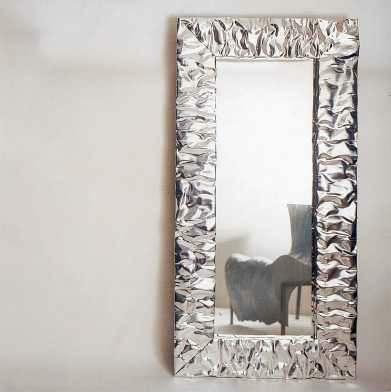 Plisse 39 dilmos edizioni specchio mirror - Specchio con cornice in gesso ...